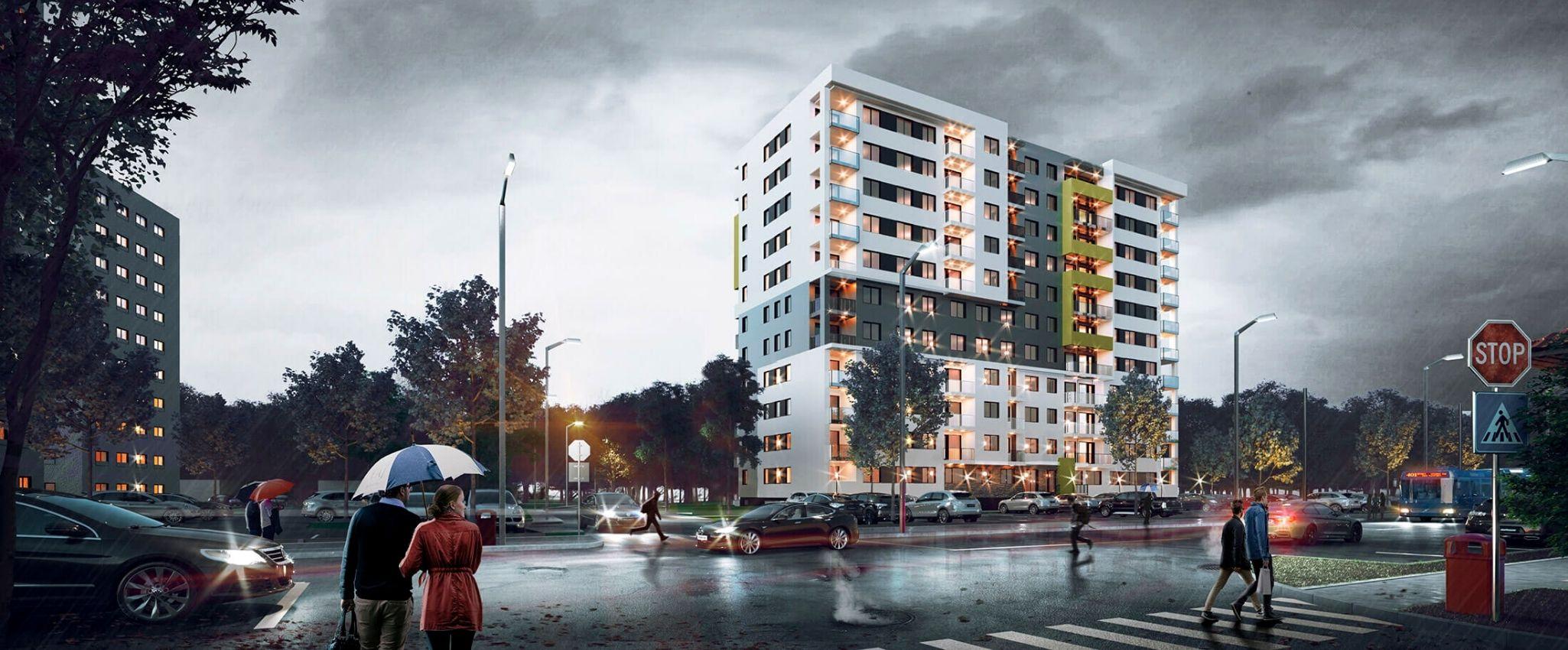 Complex imobiliar Prima Premium Decebal - apartamente cu 2 camere in Oradea